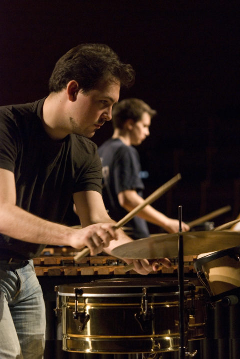 Marimbugs Percussion Duo - Preliminary Round IPCL 2009