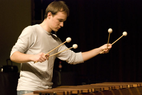 Slovenian Percussion Duo - semifinals IPCL 2009