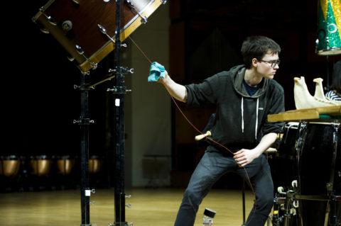 Daidalos Percussion Quartet - Preliminary Round IPCL 2015